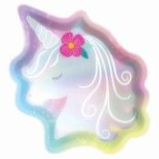 Unicorn Irridescent Plates