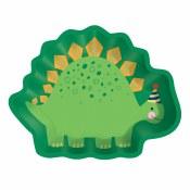 Dinosaur Shaped Plates