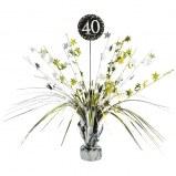 40th Sparkling Centerpiece