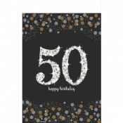 50th Sparkling Tablecover