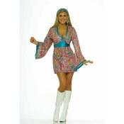 Wild Swirl Dress