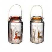 Deer Silhoutte Candle Holder