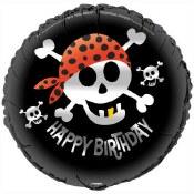 Pirate Bday 18 In Foil