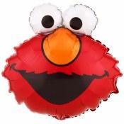 Elmo Head Mini 9in Foil
