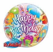 Birthday Gift Box Bubble