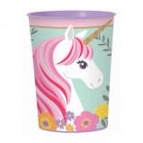 Unicorn Plastic Cup