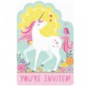 Unicorn Magical Invitations