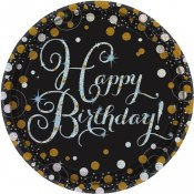 Sparkling Celebration Plates