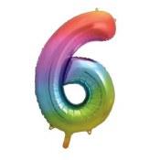 #6 34in Rainbow Supershape
