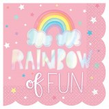 Rainbow Lunch Napkins