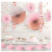 Rose Gold/blush Decor Kit