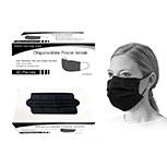 Masks Black Disposable 50ct