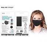 Masks Disposable Blk Kid 10ct