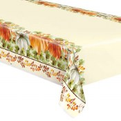 Fall Tablecover Plastic