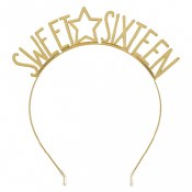 Sweet Sixteen Metal Headband