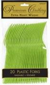 Kiwi Plastic Forks
