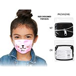 Masks Fabric Meow Kids