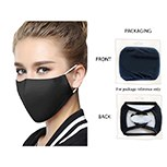 Masks Fabric Black Snug Fit