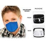 Masks Fabric Kids Blue