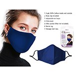 Mask Fabric Blue 3ply