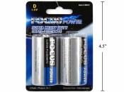 D Batteries 2pk