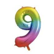 #9 34in Rainbow Supershape