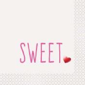 Valentines Sweet Napkins