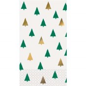 Chic Guest Napkins Trees