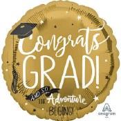 Congrats Grad Gold Foil