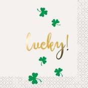St Patricks Day Bev Napkins