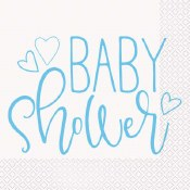 Baby Boy Lunch Napkins