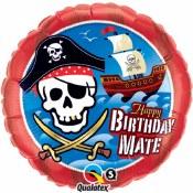 Birthday Mate Foil Balloon