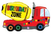 Birthday Zone Foil Balloon