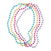 Colored Bead Necklace 4ct