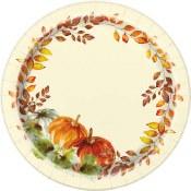 Fall  Dessert Plates Paper