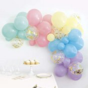 Balloon Garland Kit-pastel
