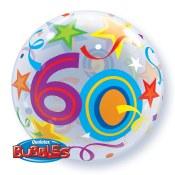 60th Bubble Balloon