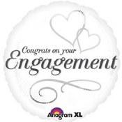 Engagement Congrats 18in Foil