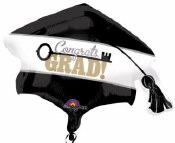 Grad Cap Supershape Balloon