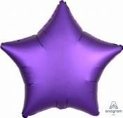 Heart Foil 18in Purple Luxe