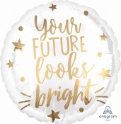 Your Future Looks Foil Balloon