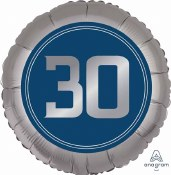 30th Luxe Foil Balloon