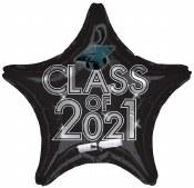 Class Of 2021 Foil Balloon