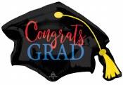 Congrats Grad Cap Foil