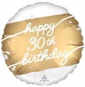30th Golden Birthday Foil