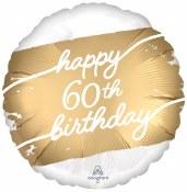 60th Golden Birthday Foil