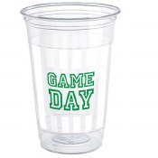 Football 16oz Plastic Cups