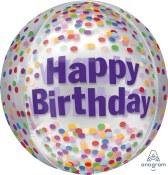 Birthday Orbtz Balloon