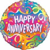 Anniversary Multi Color Foil