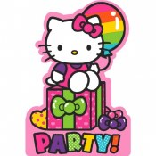 Hello Kitty Invites